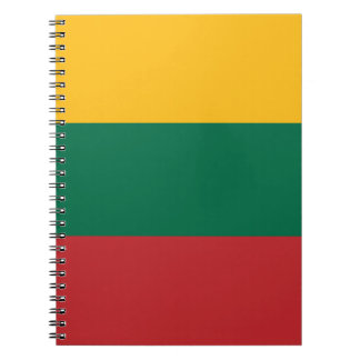 Cuaderno ¡Bajo costo! Bandera de Lituania