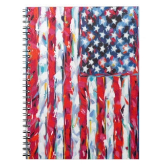 Cuaderno Bandera americana