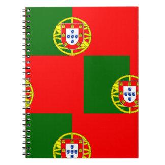Cuaderno Bandera nacional de Portugal