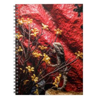 Cuaderno barbudo del dragón