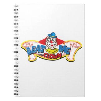 Cuaderno Bátame el payaso