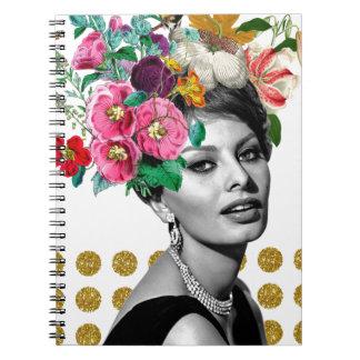 Cuaderno Beautiful Sophia