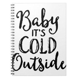 Cuaderno Bebé es exterior frío
