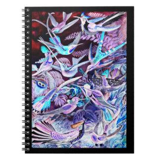 Cuaderno Bella arte del colibrí