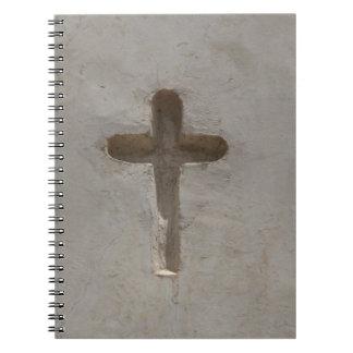 Cuaderno Biblia cruzada cristiana primitiva del favorito