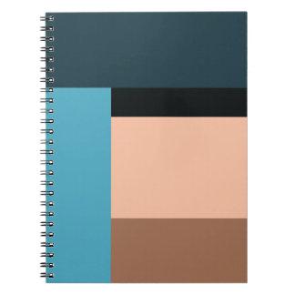 Cuaderno Bloque del color crema del hielo