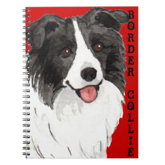 Cuaderno Bloque del color del border collie