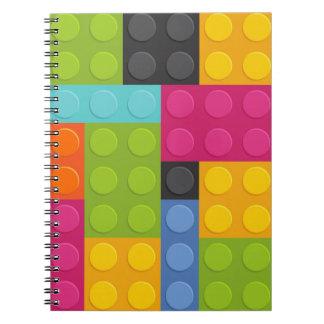 Cuaderno bloques huecos rosados