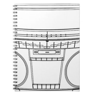 Cuaderno boombox