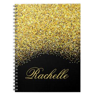 Cuaderno Brillo personalizado