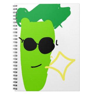 Cuaderno Bróculi fresco