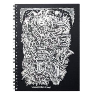 Cuaderno Brujas y diablos, por Brian Benson.