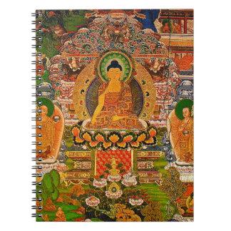 Cuaderno Buddhism budista de Buda que bendice al bohemio de