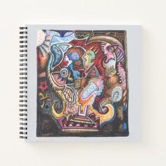 Cuaderno Búsqueda alquímica, por Brian Benson