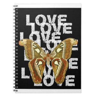 Cuaderno butterfly love
