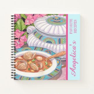 Cuaderno Café de la isla - la sopa se sirve receta