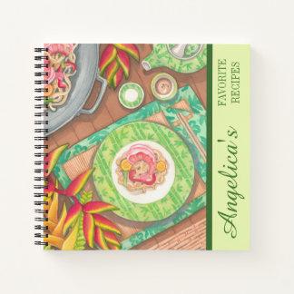 Cuaderno Café de la isla - receta de la fritada del Stir