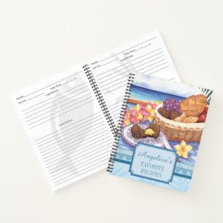 Cuaderno Café de la isla - receta tropical del desayuno