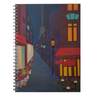 Cuaderno Cafetería en París