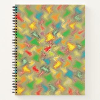 Cuaderno Caliente los movimientos del cepillo