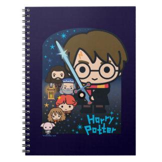Cuaderno Cámara de Harry Potter del dibujo animado de
