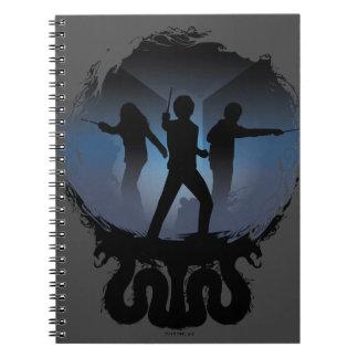 Cuaderno Cámara de Harry Potter el | de silueta de los
