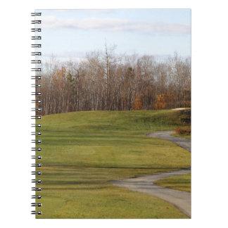 Cuaderno Campo de golf