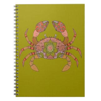 Cuaderno Cangrejo
