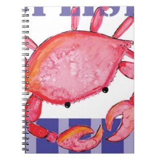 Cuaderno Cangrejo de Splish