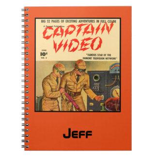 Cuaderno Capitán Video