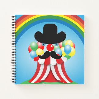 Cuaderno Cara divertida del payaso