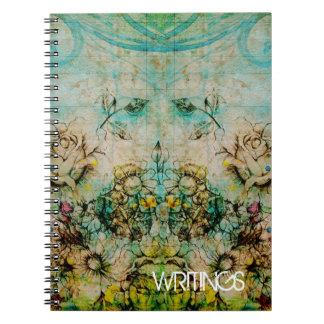 Cuaderno Caras florecientes - verde