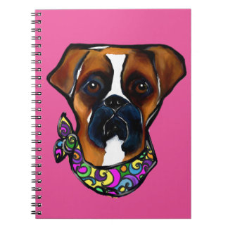 Cuaderno Carnaval del perro del boxeador