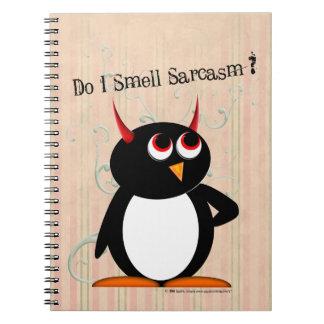 Cuaderno Carpeta divertida malvada de Penguin™, de nuevo a