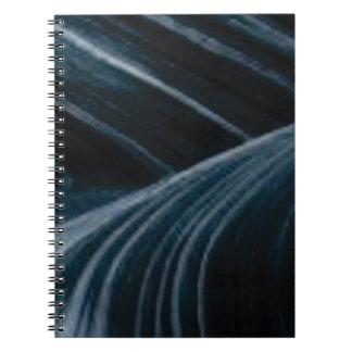Cuaderno carriles negros de la sombra