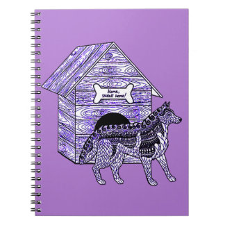 Cuaderno Caseta de perro