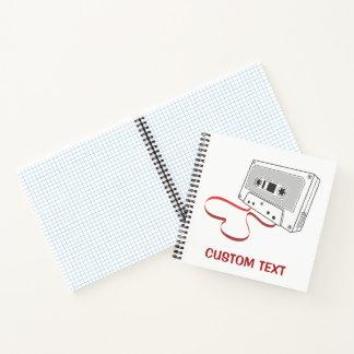 Cuaderno Casete audio
