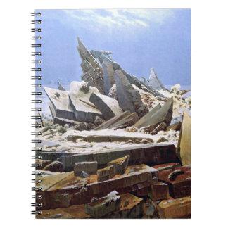 Cuaderno CASPAR DAVID FRIEDRICH - el mar del hielo 1824