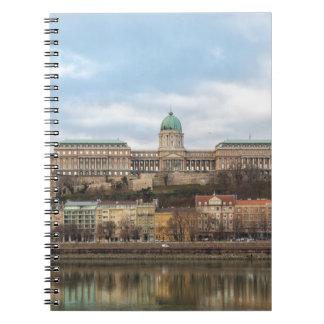 Cuaderno Castillo Hungría Budapest de Buda en el día