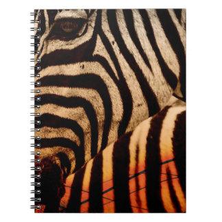 Cuaderno cebra