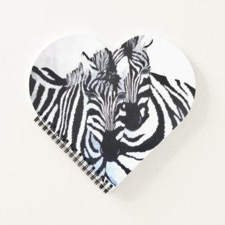 Cuaderno Cebras - estoy con usted (el arte de Kimberly