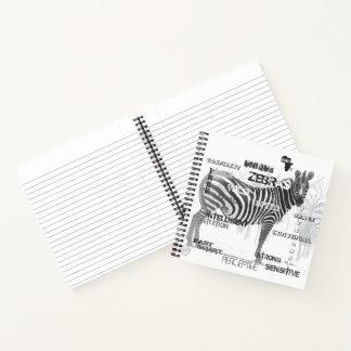 Cuaderno Cebras únicas
