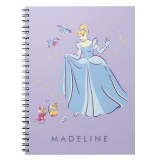Cuaderno Cenicienta el | Bibbidi, Bobbidi, abucheo
