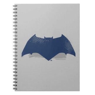 Cuaderno Cepillo de la liga de justicia el | y símbolo de