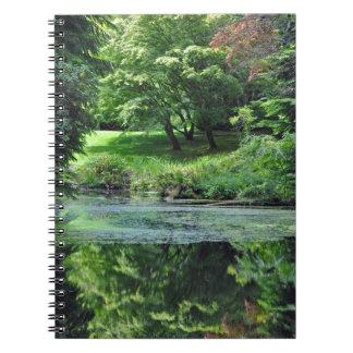 Cuaderno Charca reflexiva de la primavera