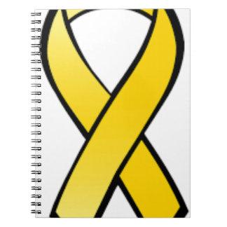 Cuaderno Cinta amarilla de la conciencia