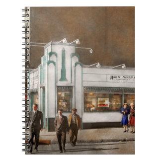 Cuaderno Ciudad - Amsterdam NY - hamburguesas 5 centavos