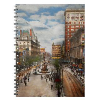 Cuaderno Ciudad Cincinnati OH - fuente 1907 de Tyler