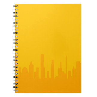 Cuaderno Ciudad Orangescape
