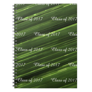 Cuaderno Clase adaptable de metal del verde esmeralda 2017